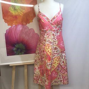 Tahari floral dress.